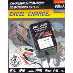 CHARGEUR EXCEL CHARGE 6V/12V